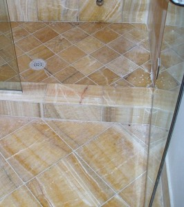 How to clean and restore marble shower floors and walls for How to clean a marble shower
