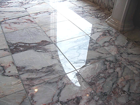 Unlike Other Surfaces Marble Floors