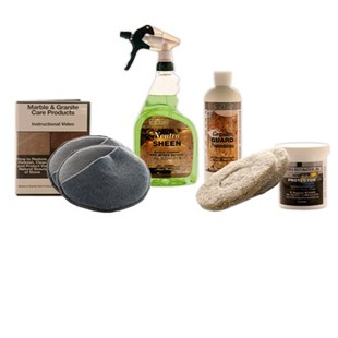 Deluxe Granite Countertop Maintenance Kit - Without Buffer