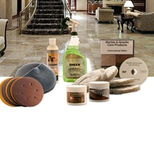 Marble refinishing kit marble restoration and maintenance kit marble refinishing kit standard restoration kit without buffer solutioingenieria Images