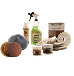 Standard Marble Restoration & Maintenance Kit SF Without Buffer