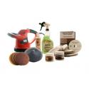 Standard Marble Restoration & Maintenance Kit With Buffer